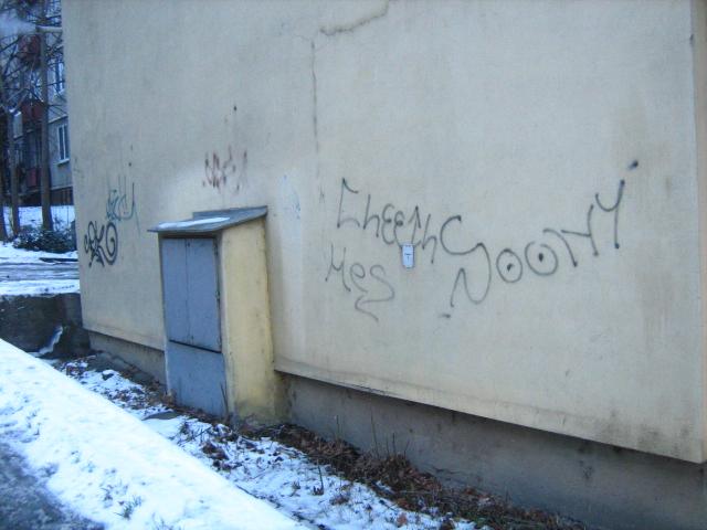 Odstránenie grafitov vo výške Košice